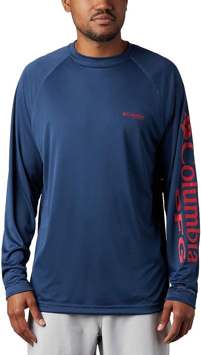 Columbia PFG Terminal Tackle Camisa de Manga Larga para Hombre, protección Solar: Amazon.es: Ropa y accesorios