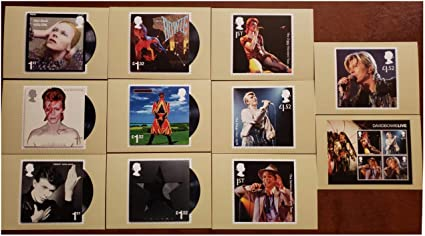 David Bowie Ziggy Stardust Tour 1973 Collectible Stamp Postcard Royal Mail