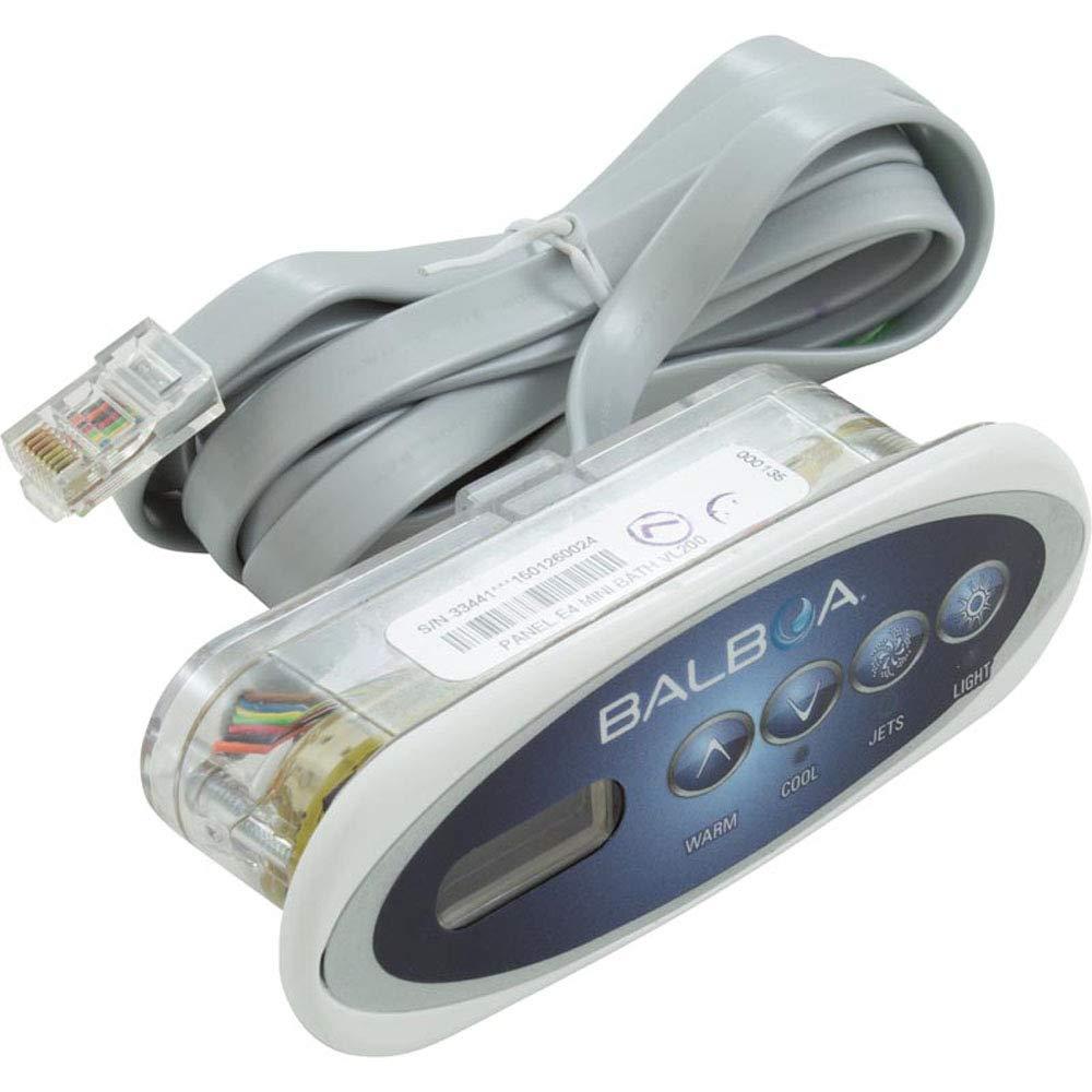 Balboa 30-200-3238 Topside Kit, Mini Oval VL200 Plus Overlay, 53238