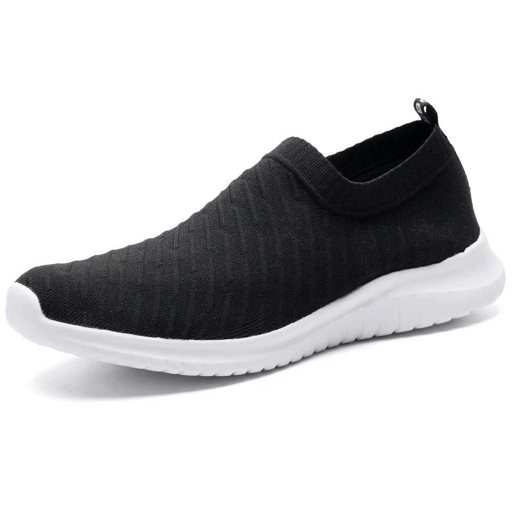d7e9426e247eb LANCROP Women's Comfortable Walking Shoes - Lightweight Mesh Slip On ...