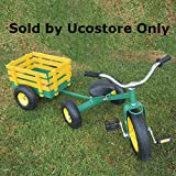 All Terrain Tricycle with Wagon (Green), #CART-042
