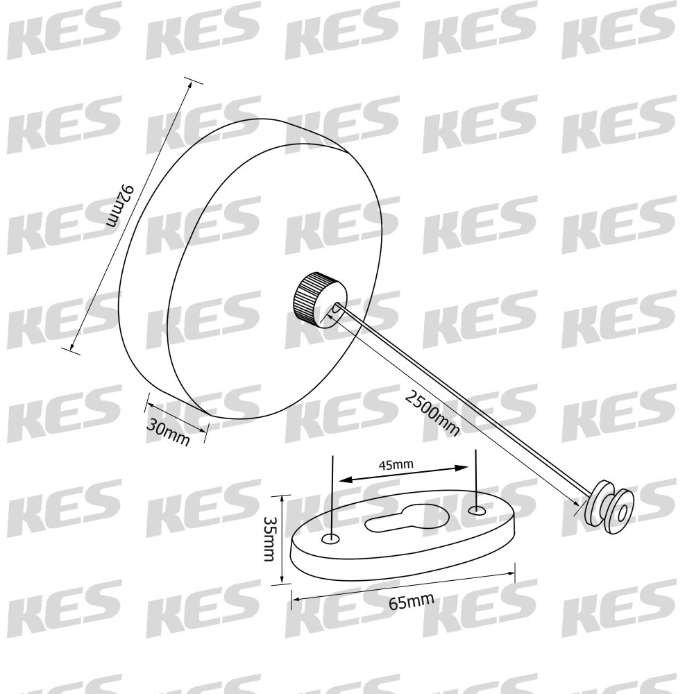 Kes Bcl210 Sus304 Stainless Steel Retractable Spin Dryer Wiring Diagram Clothesline Clothes With Adjustable Braided String Hotel Style