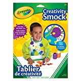 Crayola Creativity Smock, School and Craft Supplies, Gift for Boys and Girls, Kids, Ages 3,4, 5, 6 and Up,  Arts and Crafts