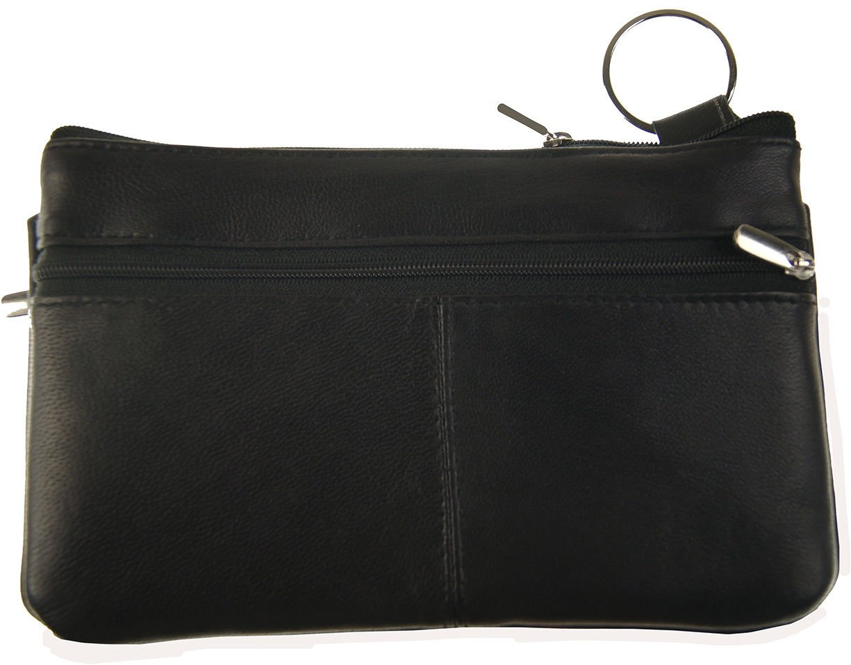 Wallets Soft Leather Travel Cosmetic Case Bag Clutch Smart Phone Cell Holder