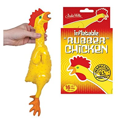 Accoutrements Emergency Inflatable Rubber Chicken: Home & Kitchen