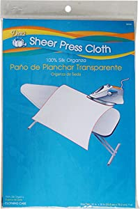 Dritz Clothing Care 82505 Sheer Press Cloth, 22 x 30-Inch
