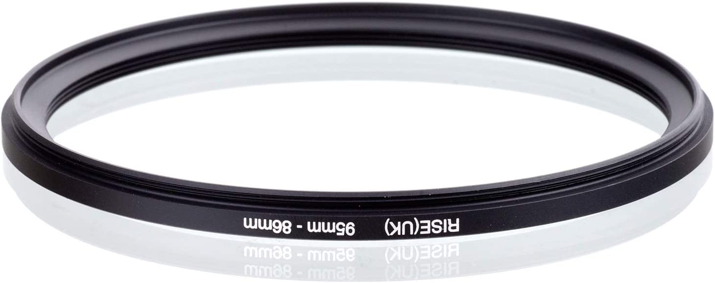 UK 82mm-72mm 82-58//62//67//72//77 86-77//82 95-86 105-77//102 Step Down Filter Ring Adapter Rise