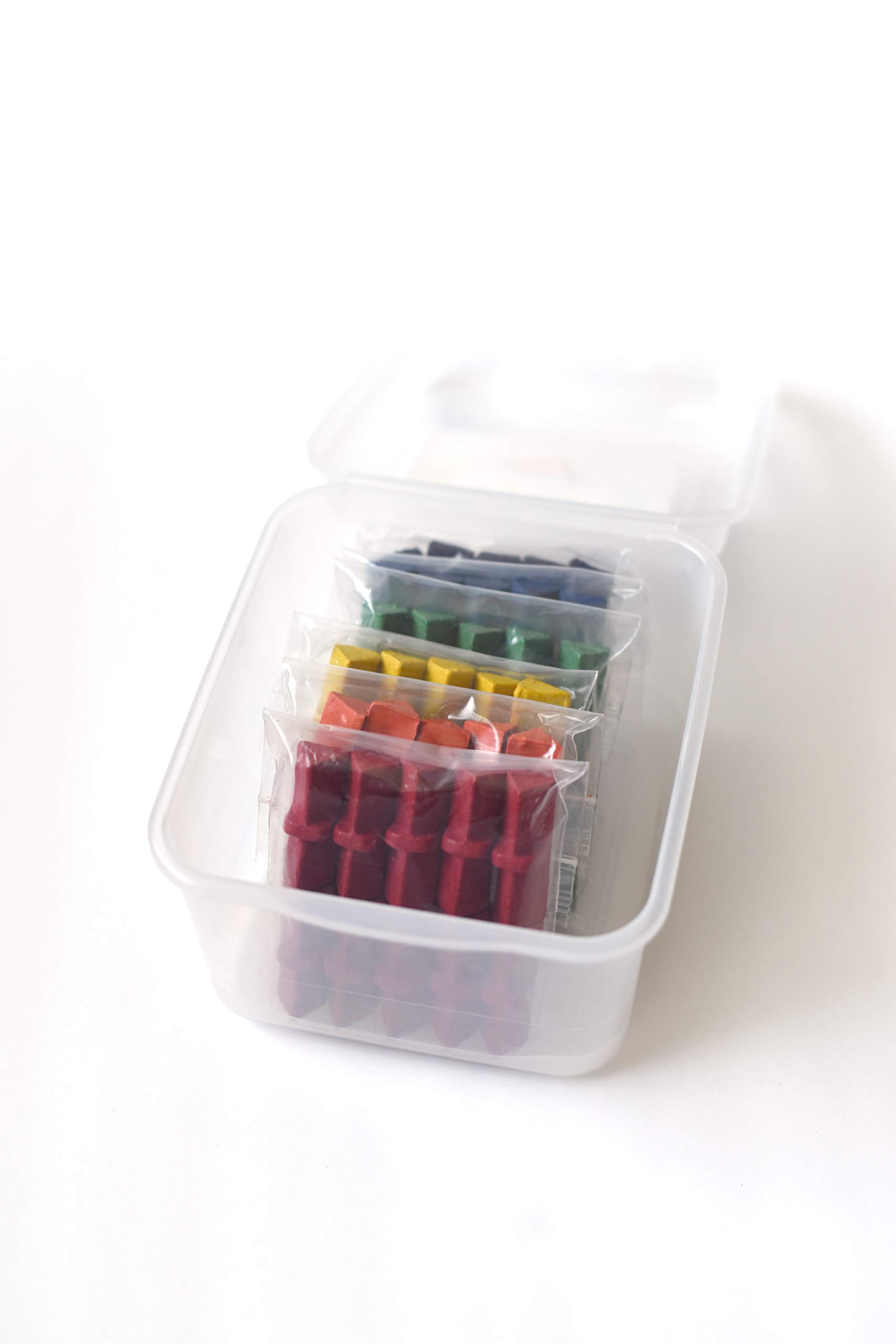 Effortless Art Crayons Basic Bucket: 6 Colors 10 of Each Color Eco-Friendly Adaptive Grip Crayons