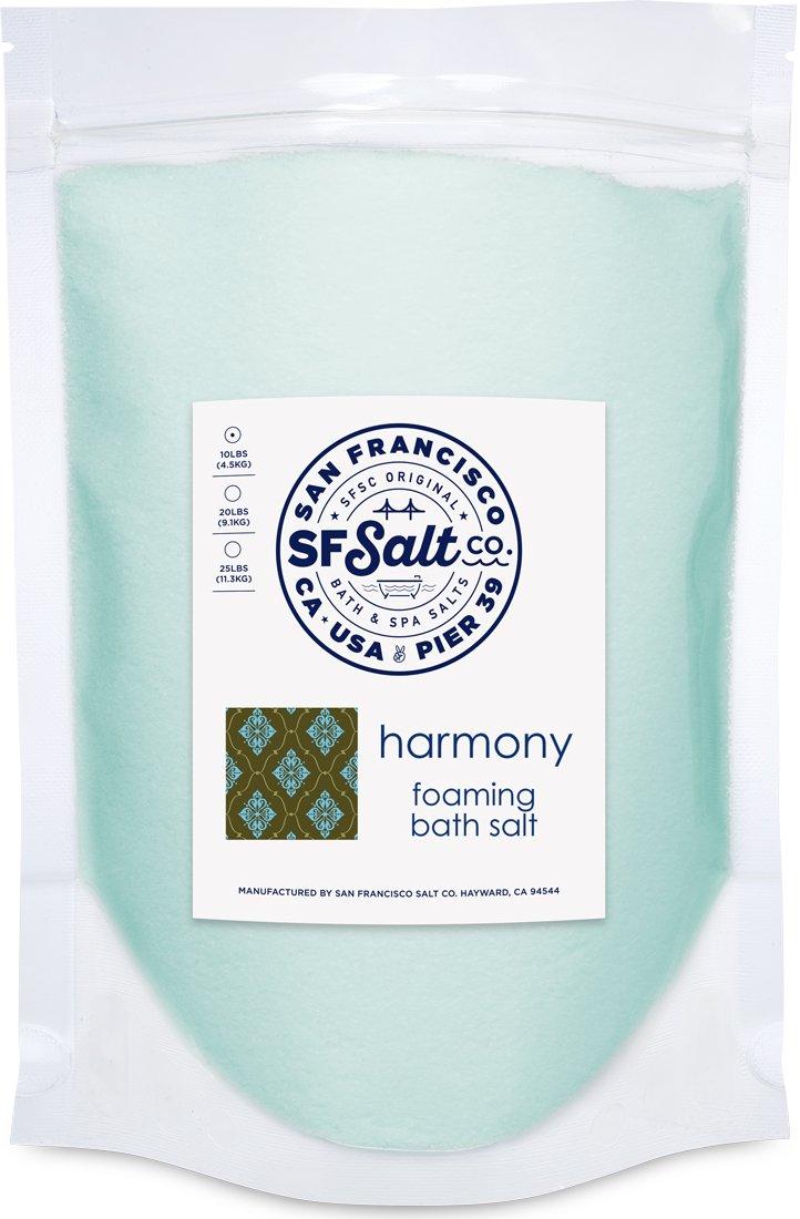 Harmony Foaming Bath Salts - 2 lb. Luxury Gift Bag