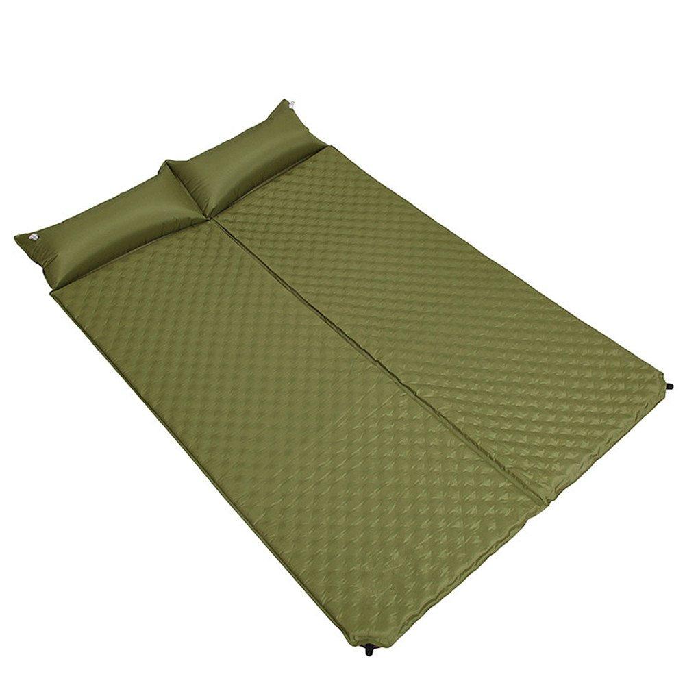 xbzz Outdoor-Isomatte, doppelte automatische Spleißen Band Kissen aufblasbare Kissen