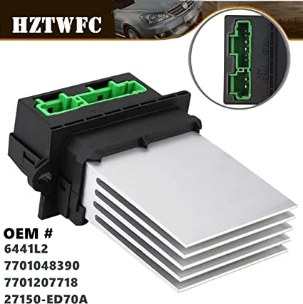 HZTWFC 7701048390 6441L2 MA959 Calentador Motor Resistencia del ...