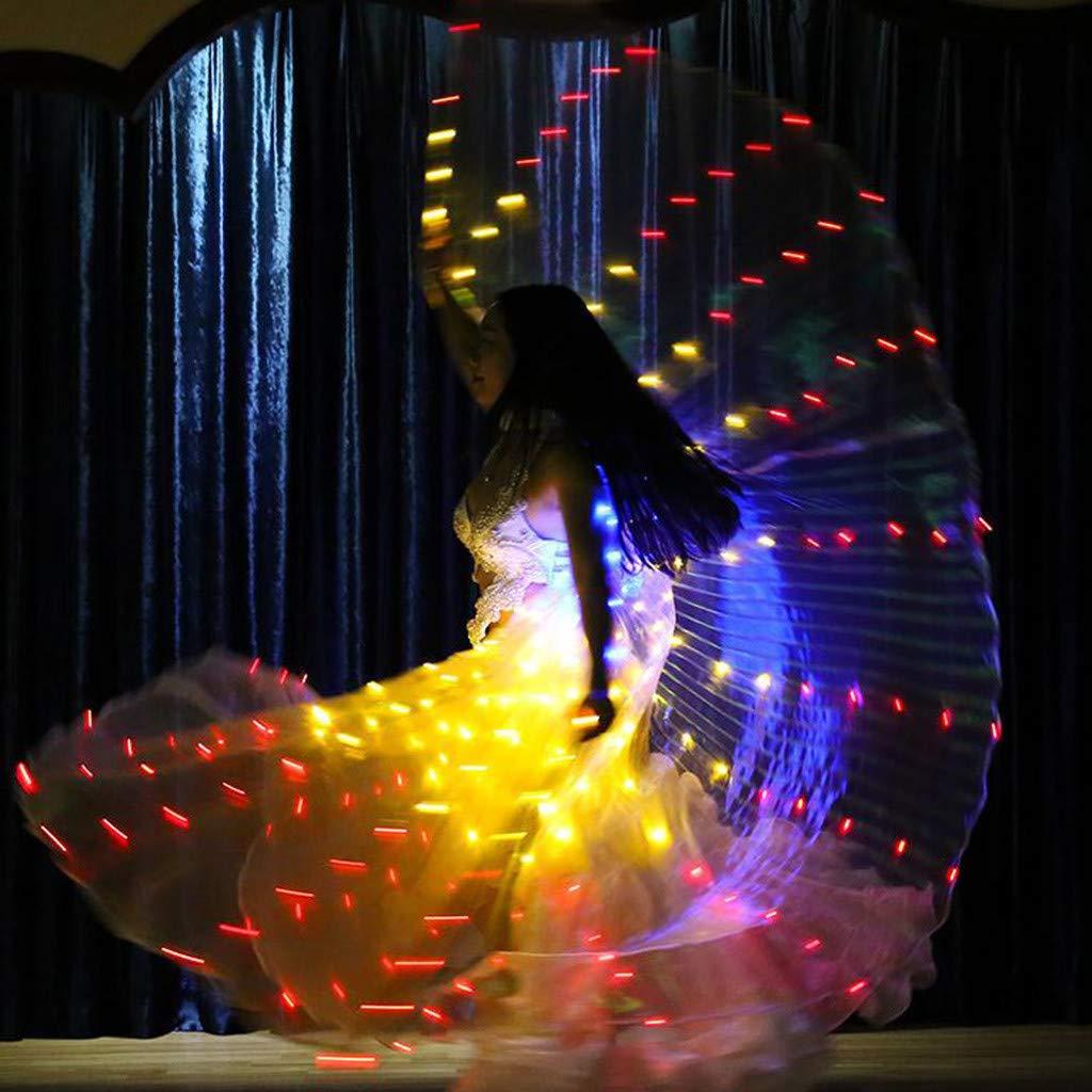 Alas de luz LED Alas de Danza Mariposa Fluorescente Danza ...