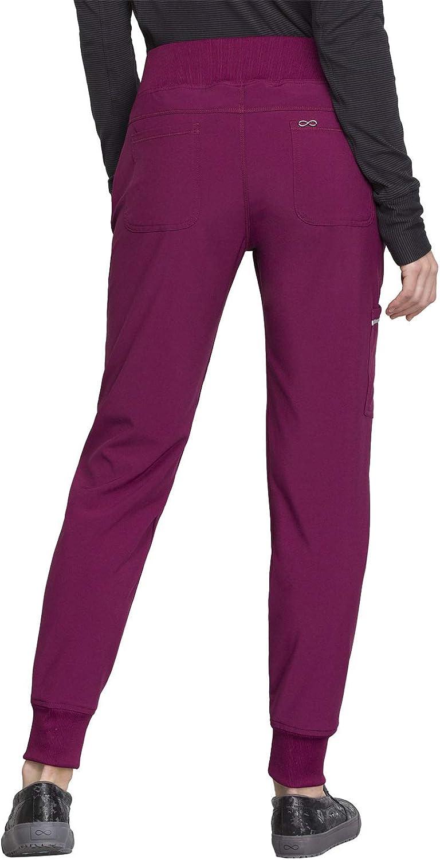 CHEROKEE Infinity Mid Rise Tapered Leg Jogger Scrub Pant Scrub Pant: Clothing
