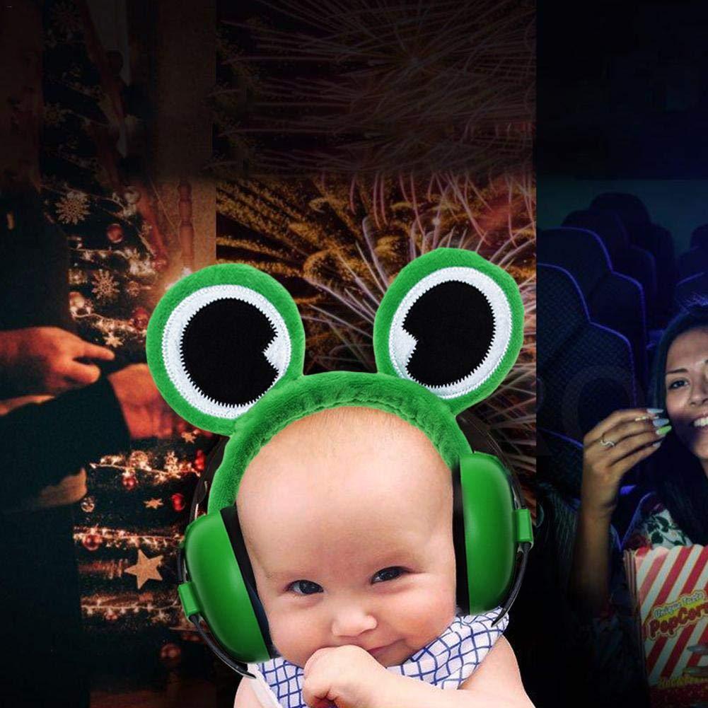 fllyingu Orejeras para beb/és Protecci/ón auditiva para ni/ños Protecci/ón auditiva Orejeras para Reducir el Ruido en ni/ños Auriculares con cancelaci/ón de Ruido para beb/és