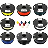 3rDment PLA 3D Printer Filaments (1.75 mm, Color and Weight vary), Compatible with All FDM 3D Printers - Replicator 2, Ultimaker 1, RepRap, Replicator 2x, Prusa i3, Mendel Prusa, Ultimaker 2, Replicator, Print/bot, Leapfrog Creatr, Zcorp, Solidoodle, UP! Plus, Form 1, Cube X, Up! Mini, Creator, Mende!Max, uPrint, PowerWasp, Dimension, Lulzbot, Felix 2.0