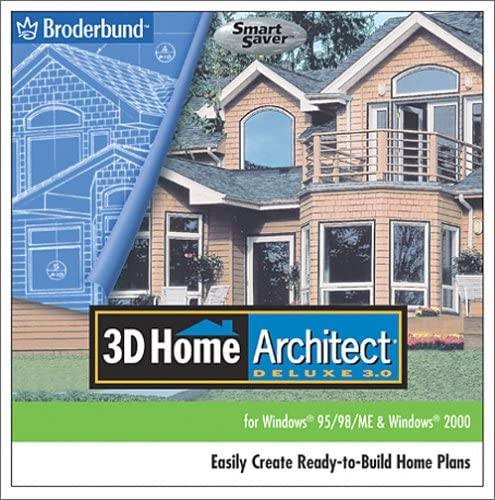 Amazon Com 3d Home Architect Deluxe 3 Jewel Case