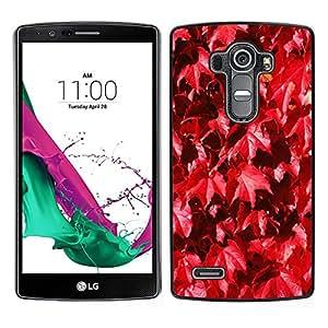 "Pulsar Snap-on Series Teléfono Carcasa Funda Case Caso para LG G4 , Autumn Leaves vid de la naturaleza caída"""