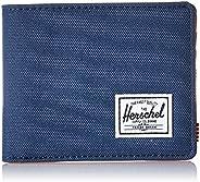 Herschel RFID Hank, Couro sintético azul-marinho/bronze, tamanho nico
