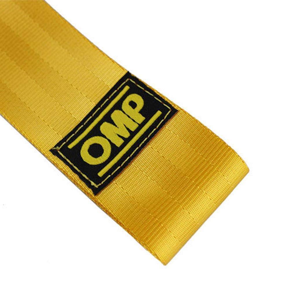 ATpart Remolque para correa Remolque universal para autom/óvil Remolque de cuerda de remolque Parachoques Remolque Cuerdas de remolque de nylon de alta resistencia para autom/óviles Ford OMP JDM tra