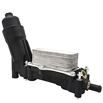 Amazon.com: Oil Filter Cooling Housing Assembly Fit for 2014 ...