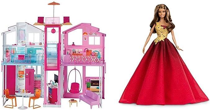 La Casa di Malibu con una Barbie inclusa: Amazon.it: Giochi e