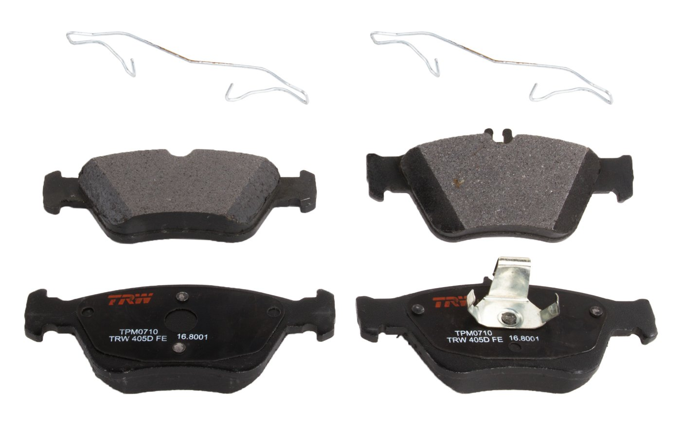 TRW TPM0710 Premium Front Disc Brake Pad Set