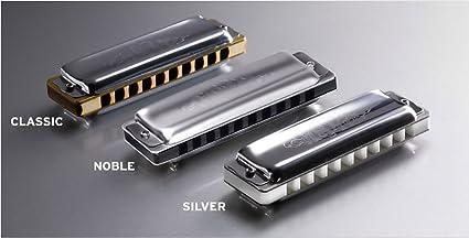 Key of C Seydel 16301 1847 Silver Harmonica