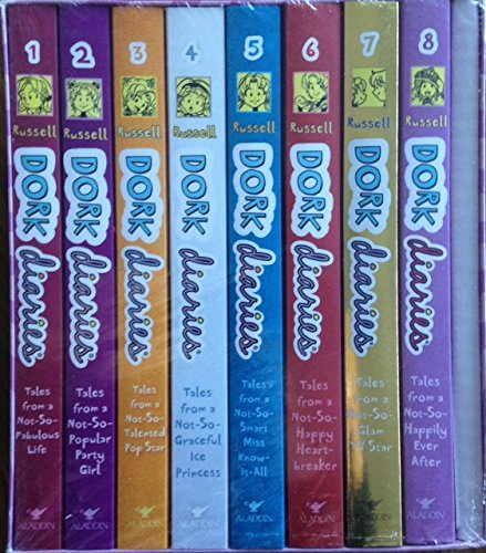 Read Online Dork Diaries Book Collection Boxed Set - Books 1 -8 - Paperback - Free Poster pdf epub
