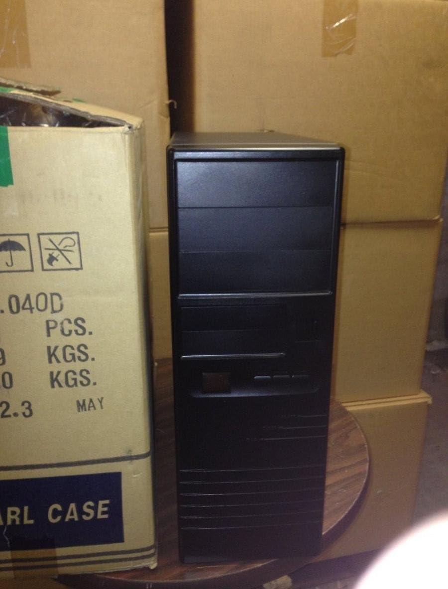 Build Custom Vintage PC Computer Black AT Computer Case Mid Tower