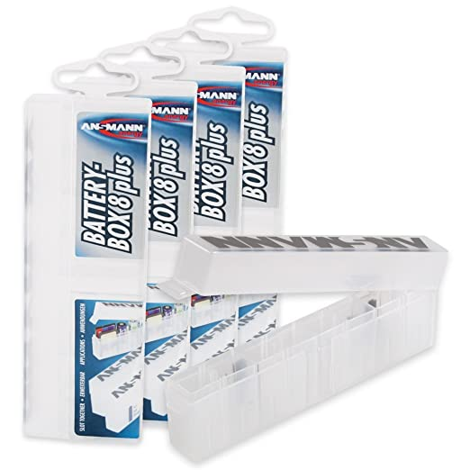 8 opinioni per 5 x ANSMANN Caricabatterie Per 8 batterie AA/AAA Micro batteria e SD-carte