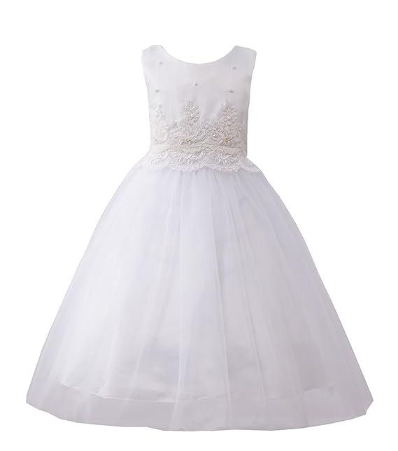 BabyPreg BabyPreg kleine Mädchen Tüll bestickte Spitze Kleid ...