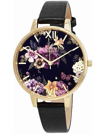 Olivia Burton Womens Analogue Quartz Watch with Leather Strap OB16EG78 52e16bcf4428f