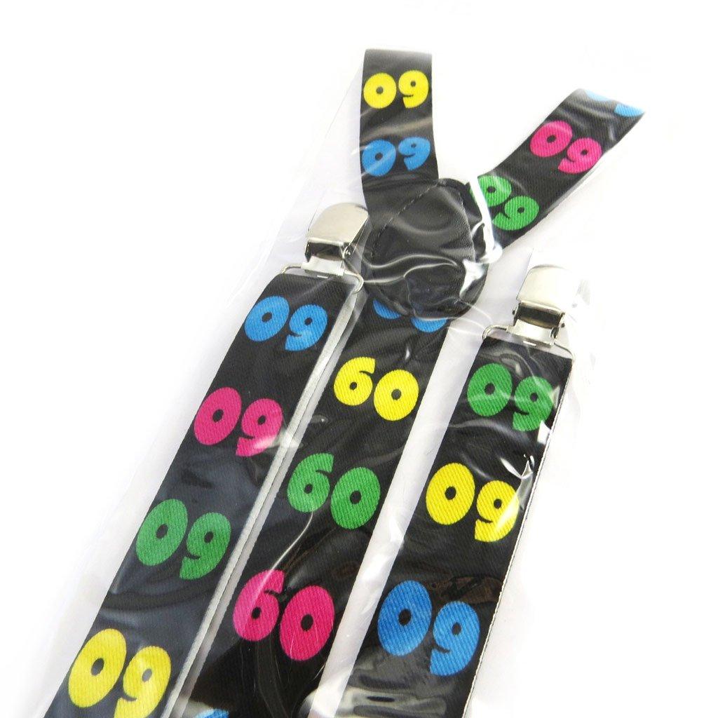 Strap '60 Ans'multicoloured black.