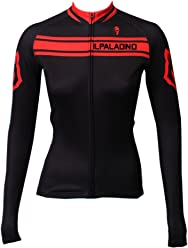 d186b4447 ILPALADINO Women s Cycling Jersey Long Sleeve Biking Shirts Breathable  Quick Dry