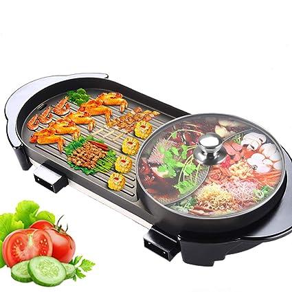 SY-Heat Bote eléctrico eléctrico multifunción/BBQ, Olla ...