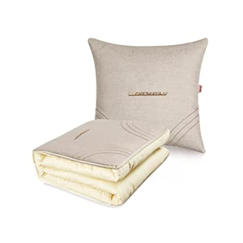 Amazon.com: Manta almohadas CJC almohadas plegable coche ...