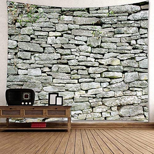 (Decha Wall Hanging Tapestry Stone Pattern Bedding Tapestry Background of Stone Texture 3 Different Size (59