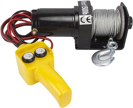 1500 lb Hiltex 11302 12V Electric Winch Ridgerock Tools Inc.