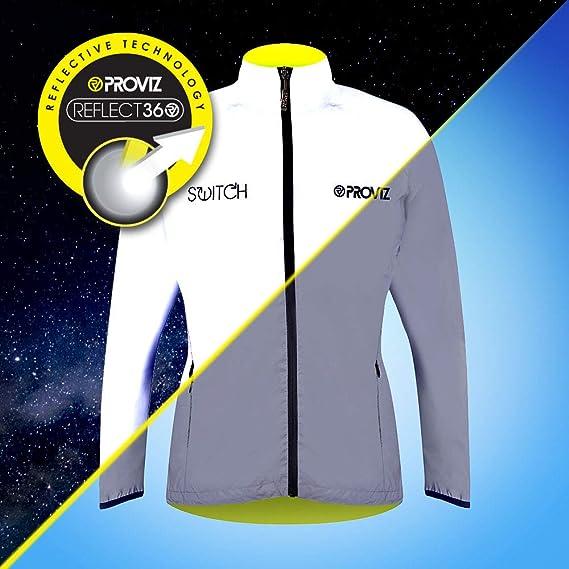 848f2db2e Proviz Women s Switch Reflective Cycling Jacket  Amazon.co.uk  Sports    Outdoors