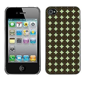 ZECASE Funda Carcasa Tapa Case Cover Para Apple iPhone 4 / 4S No.0002706