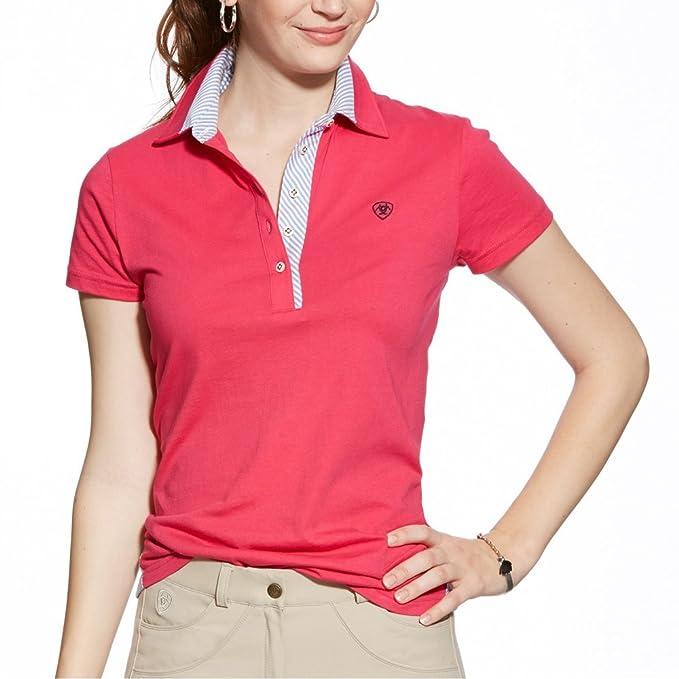 Ariat para mujer camiseta de fútbol para hombre Polo de manga corta - de color rosa