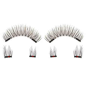 469d996c641 Amazon.com : Magnetic Eyeashes false eyelashes 1 pair 3d eye lashes  extension lashes natural custom packaging Box link for dropshop, SCT06 :  Beauty