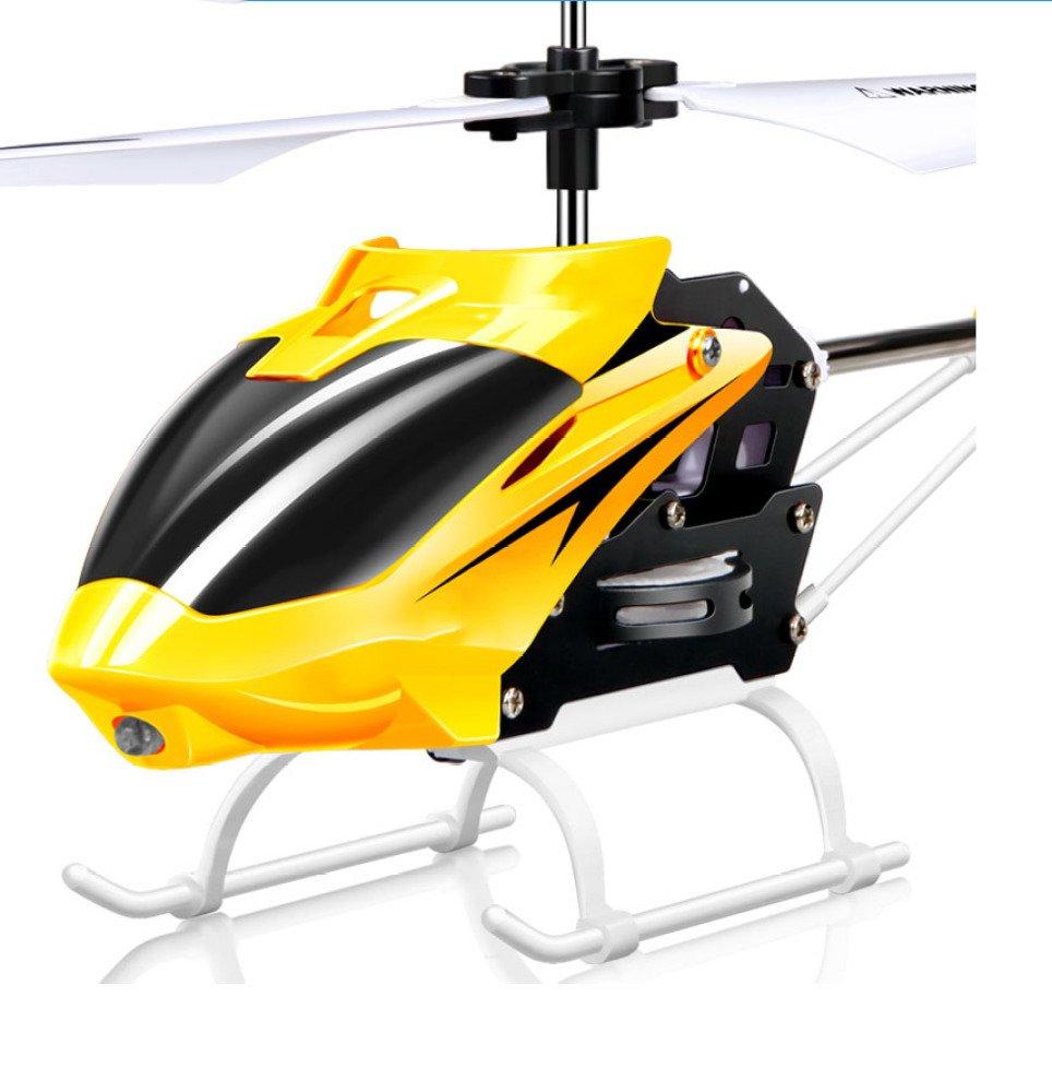 MLL Telecomando aereo W25 caduta elicottero senza pilota con giocattolo elettrico piccolo,giallo,30 cm o meno
