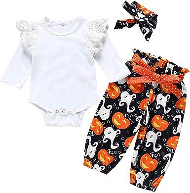 Conjuntos Bebé Niña Halloween 2pcs Conjunto Ropa Bebe Unisex ...