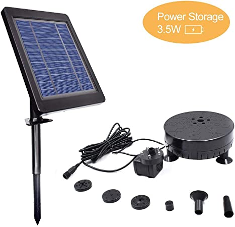 6V SOLAR WATER FEATURE PUMP LONG LEAD IDEAL TO GET YOUR WATER FEATURE GOING