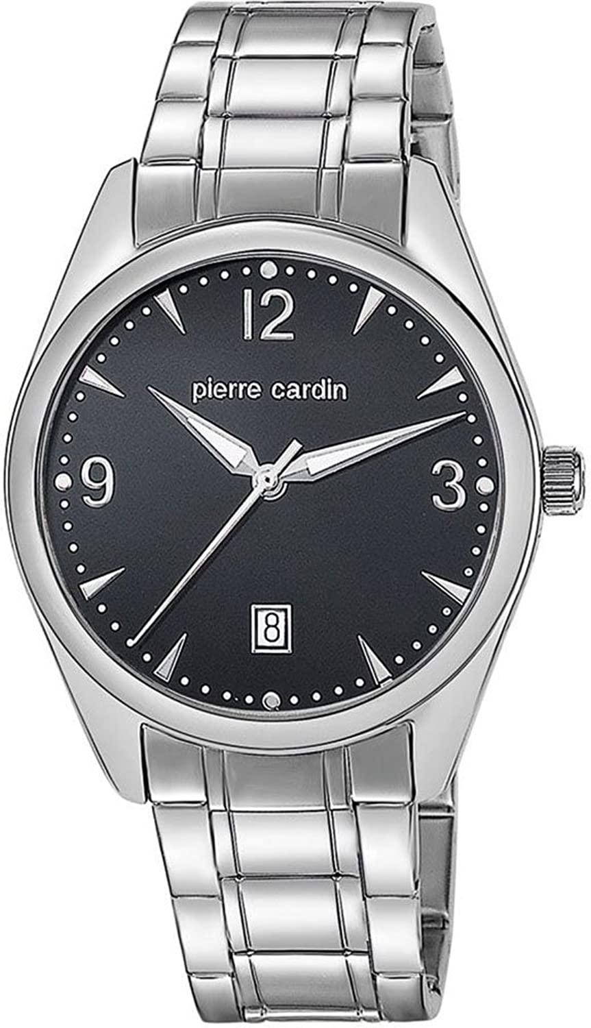 Pierre Cardin Herren-Armbanduhr Special Collection Analog Quarz Edelstahl PC104741S01