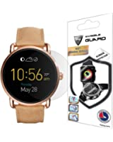 Fossil Q Wander Screen Protector (2 Units) Invisible Ultra HD Clear Film Anti Scratch Skin Guard - Smooth / Self-Healing / Bubble -Free By IPG