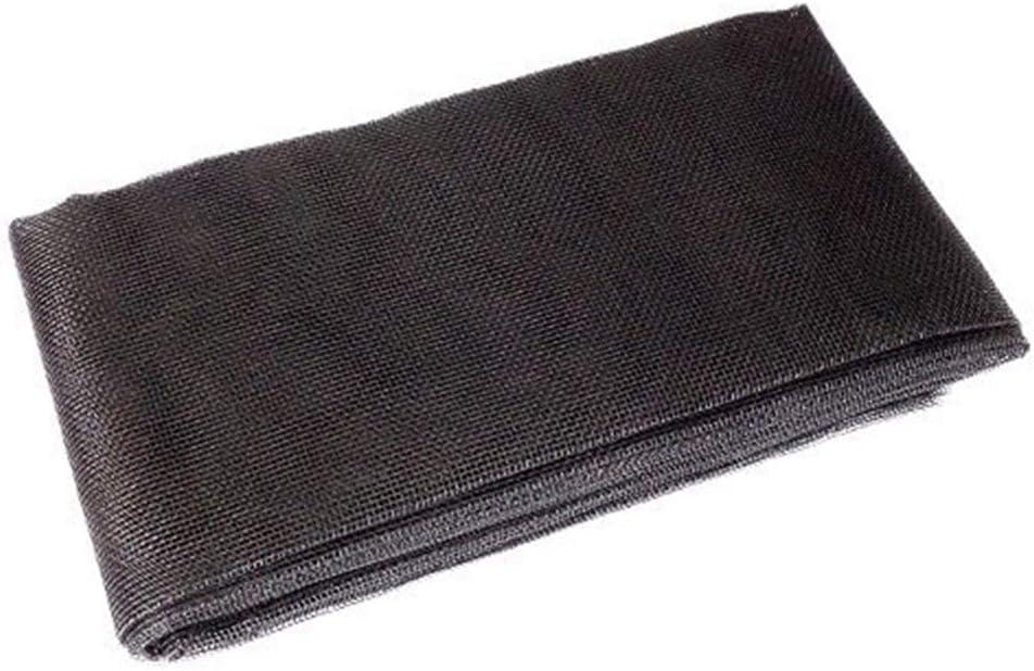 gris Mosquitera de fibra de vidrio autoadhesiva con gancho y cinta de velcro ajustable a la ventana Mitef DIY