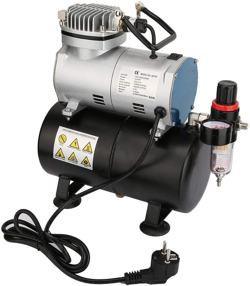 Mejor Compresor para aerógrafo: AS186 Ausla