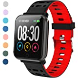 LEKOO Fitness Tracker Smart Watch with Heart Rate Monitor Fit Tracker Waterproof Activity Tracker with Step Counter Fit…